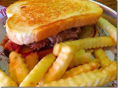 Sonny's Pulled Pork Sandwich