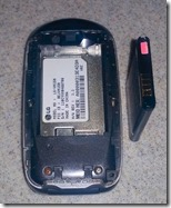 Jan's Flip Phone and Battery