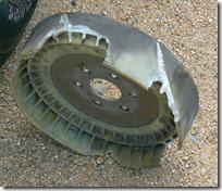 Broken Radiator Fan