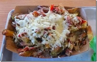 Flashburger Bacon Pesto Parmesan Fries