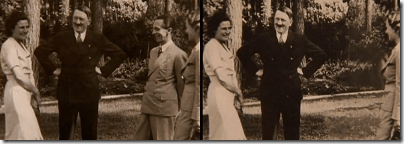 hitler with joseph goebbels photoshopped out
