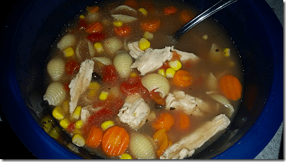 Jan's Chicken Vegetable Soup