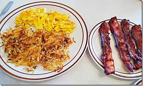 Blueberry Hill Eggs & Bacon