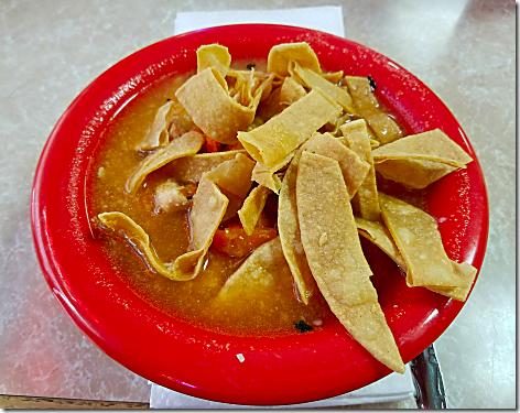 Esther's Tortilla Soup