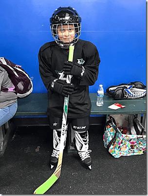 Landon At Hockey 1