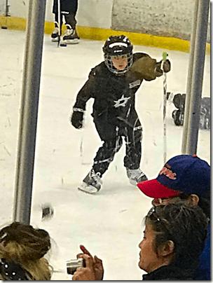 Landon At Hockey 2