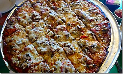 Oregano's Meaty Pizza