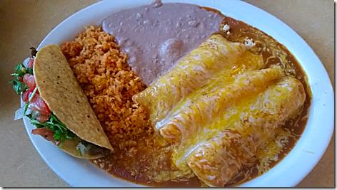 Sofia's Enchilada Plate