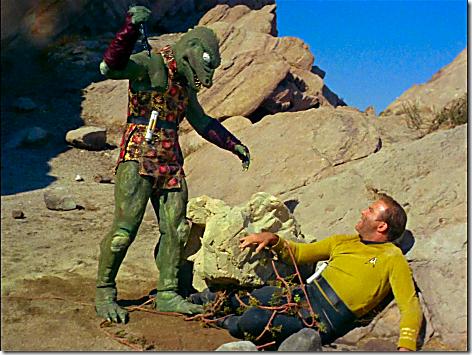 Star Trek - Kirk and Gorn