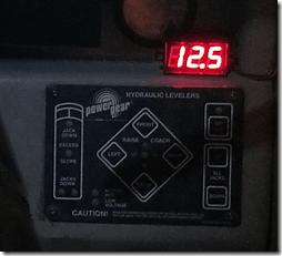 New Dash 12 volt Meter