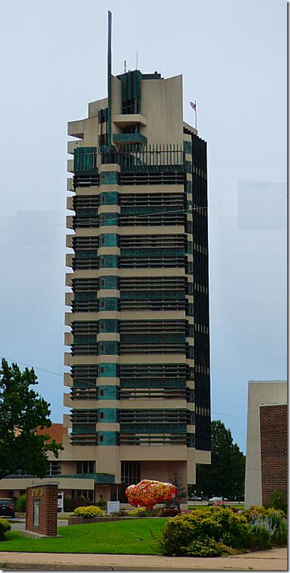 Frank Lloyd Wright Price Tower 2