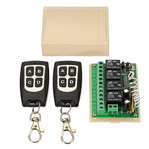RF Remote Control for Slide