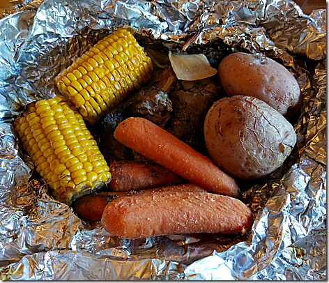 Cracker Barrel Campfire Meal