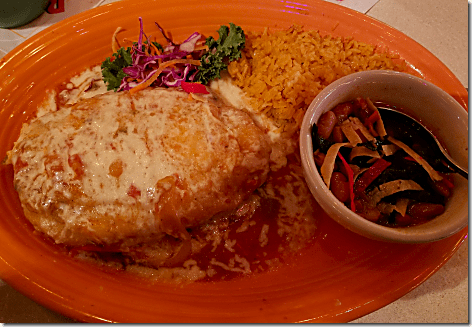 Rosie's Cantina Chile Relleno