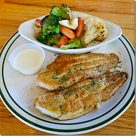 Floyd's Grilled Catfish