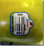 Granny Smith Apple Label
