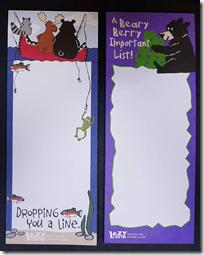 Black Bear Notepads
