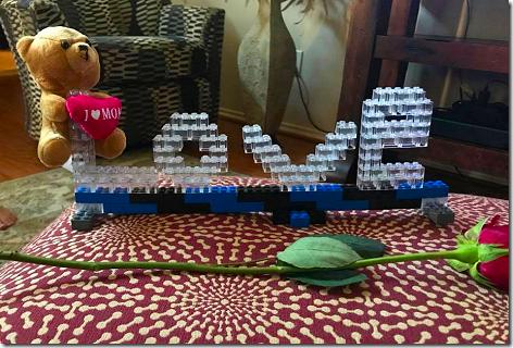 Landon's Mother's Day Legos