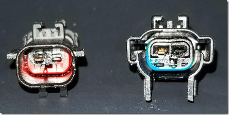 Truck AC Blower Motor Connector
