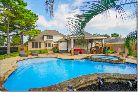 Brandi New House Pool Area