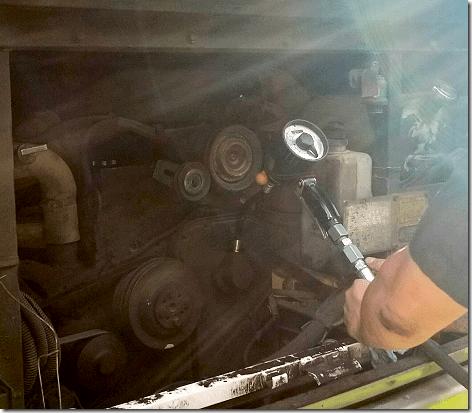 RV Mobile Lube Adding Oil 2