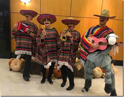 Brandi's Halloween Marachi Band