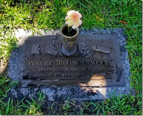 Titusville Grave Wayne