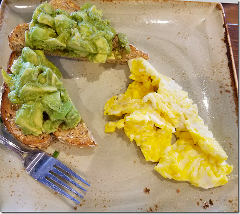 First Watch Avocado Toast