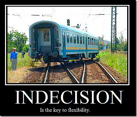 Indecision is Key to Flexibility