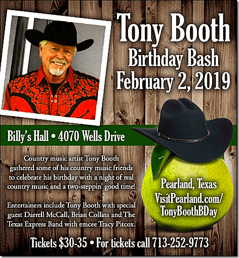 Tony Booth 2019 Birthday Bash