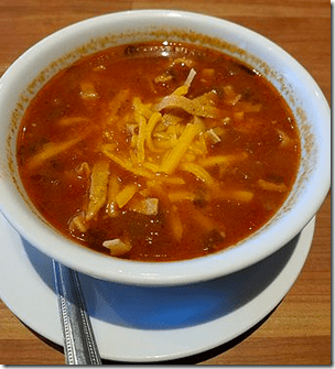 Cheddar's Chicken Tortilla Soup