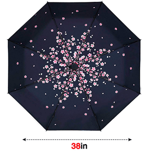 Compact Umbrella Pink Peach