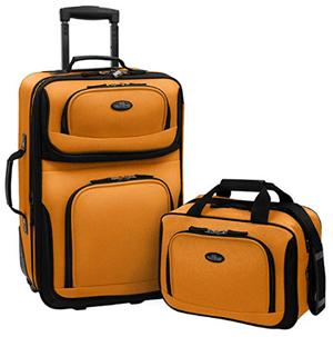 Cruise Suitcases Orange