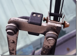 Old Wiper Mount