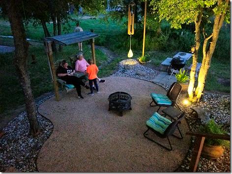 Chris Backyard After Dark