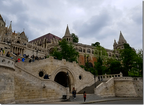 Fisherman's Bastion Steps