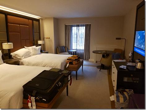 Hilton Budapest Room