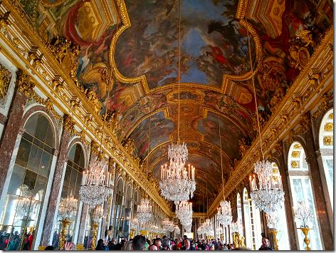 Paris Versailles Hall of Mirrors