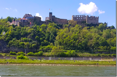 Cruising The Rhine Rheinfels Castle