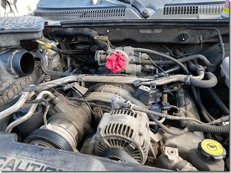Dodge Dakota Intake