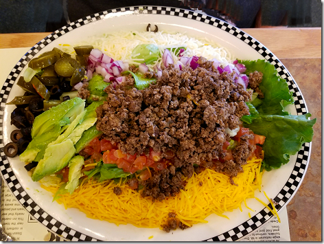 Black Bear Taco Salad