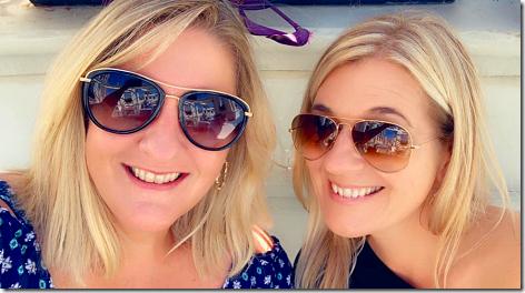 Brandi and Shawna in San Diego