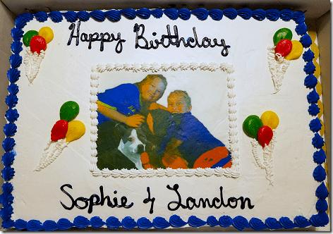 Landon's 9th Birthday Cake