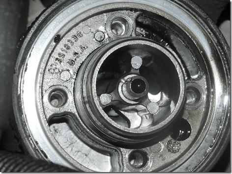 Rig Oil Filter Closeup