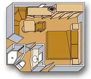 Noordam Inside Room