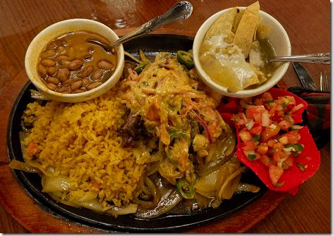 Fajitas At Los Cabos