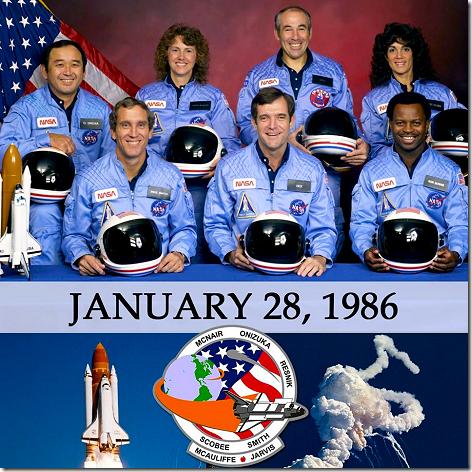 Shuttle Challenger Crew