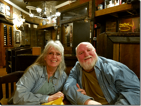 Nick & Terry at Saltgrass