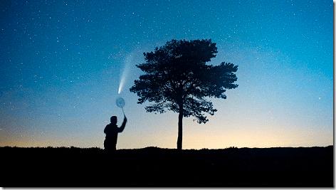 Comet NEOWISE Tennis 468