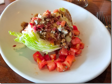 Galveston Saltgrass Wedge Salad